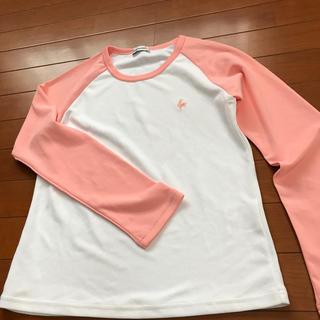 ルコックスポルティフ(le coq sportif)の美品 ルコック レディース 長袖Tシャツ(Tシャツ(長袖/七分))