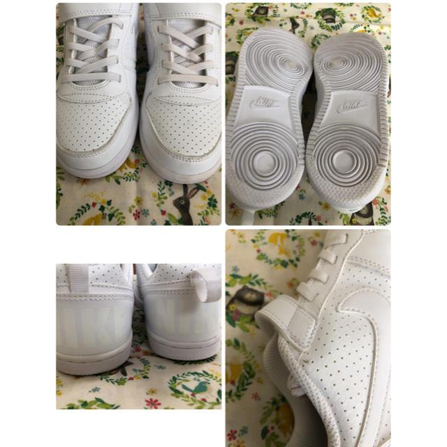 NIKE(ナイキ)のNIKE ナイキ ☆ スニーカー 21cm 室内使用のみ使用しました キッズ/ベビー/マタニティのキッズ靴/シューズ(15cm~)(スニーカー)の商品写真