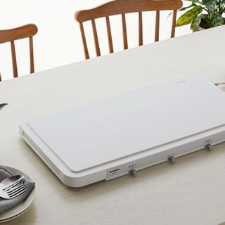 パナソニック(Panasonic)のIHデイリーホットプレート ホワイト KZ-CX1-W 未使用(ホットプレート)