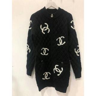 CHANEL - CHANEL シャネル ドレス ブラック ロゴ