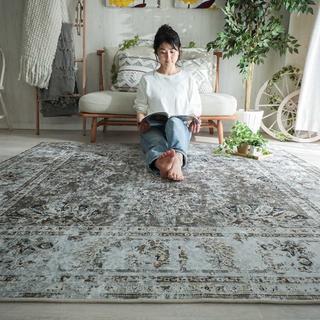 ウニコ(unico)の【送料込み】ペルシャ絨毯風カーペット ラグ(ラグ)