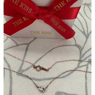THE KISS - 美品 THE KISS♡ハート ネックレス
