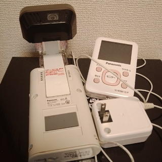 パナソニック(Panasonic)のパナソニック ワイヤレスドアモニター VL-SDM110(防犯カメラ)
