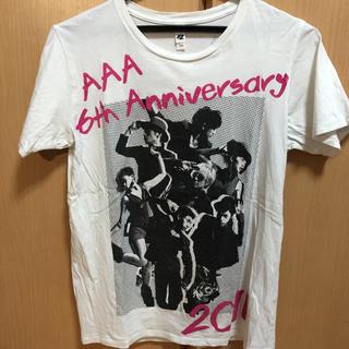 トリプルエー(AAA)のAAA ライブ グッズ6周年Tシャツ(アイドルグッズ)