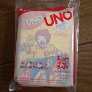 【新品未開封】マクドナルド uno ドナルド カードゲーム(トランプ/UNO)