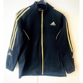 アディダス(adidas)のブラック&ゴールドのかっこいいadidas 150(ジャケット/上着)