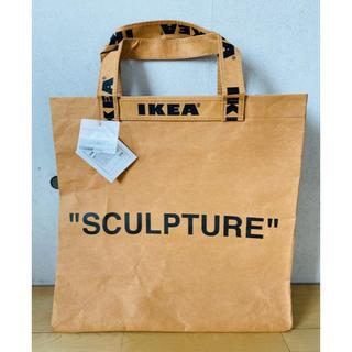 オフホワイト(OFF-WHITE)のVirgil Abloh/IKEA/off-white/新品/厚紙shopバッグ(トートバッグ)