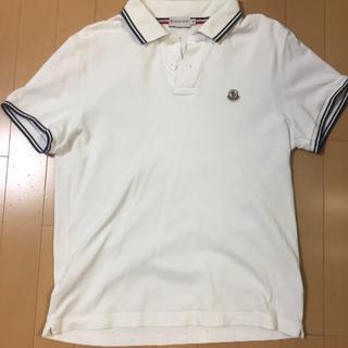 モンクレール(MONCLER)の【美品】メンズモンクレール 半袖ポロシャツ(ポロシャツ)