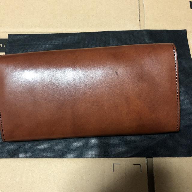 WHITEHOUSE COX(ホワイトハウスコックス)のWILD SWANS WAVE 別注 フルグレインブライドルレザー メンズのファッション小物(長財布)の商品写真