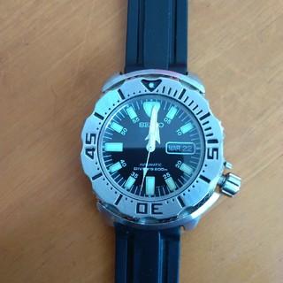 セイコー(SEIKO)のSEIKO ブラックモンスター本体のみジャンク(腕時計(アナログ))