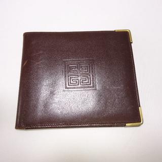 ジバンシィ(GIVENCHY)のジバンシー 二つ折り財布 茶色(折り財布)