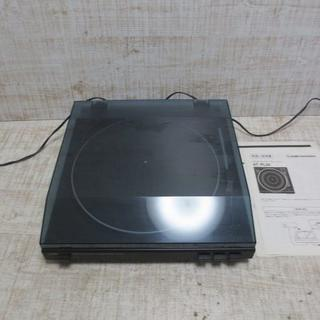 オーディオテクニカ(audio-technica)のc52 audio-technica ターンテーブル AT-PL30 レコードプ(ポータブルプレーヤー)