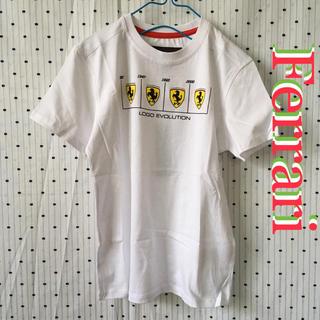 フェラーリ(Ferrari)のFerrariフェラーリ 限定エボリューションlogo キッズ7/8 Tシャツ(Tシャツ/カットソー)