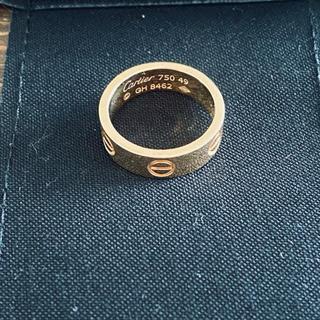 カルティエ(Cartier)のカルティエ ピンクゴールド 9号(リング(指輪))