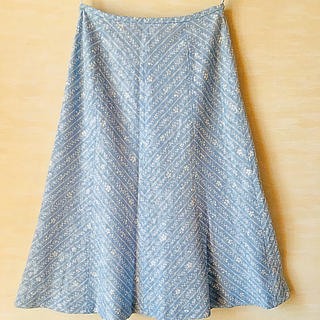 アリスバーリー(Aylesbury)のレディーススカート (花柄)(ひざ丈スカート)