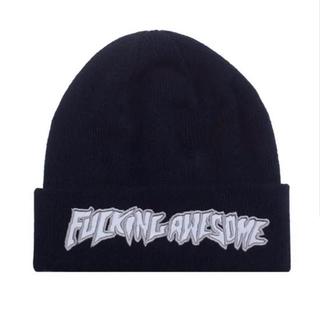 GDC - Fucking AwesomeChrome Beanie ブラック