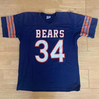ローリングス(Rawlings)のアメリカンフットボールシカゴベアーズ34 Tシャツ(Tシャツ/カットソー(半袖/袖なし))