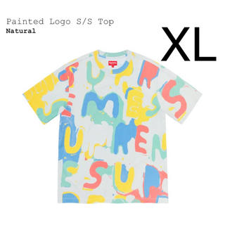 Supreme - 希少 XL supreme painted logo s/s top