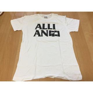 アライアン(ALLIAN)のALLIAN アライアン Tシャツ Mサイズ 白(Tシャツ/カットソー(半袖/袖なし))
