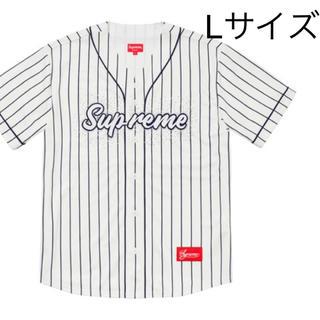 シュプリーム(Supreme)のsupreme Rhinestone Baseball Jersey (シャツ)