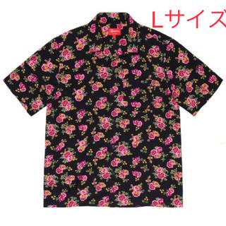 シュプリーム(Supreme)のSUPREME FLORAL RAYON S/S SHIRT L サイズ(シャツ)