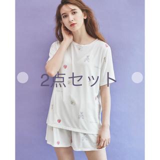 gelato pique - ☆ピケグッズモチーフTシャツ&ショートパンツ