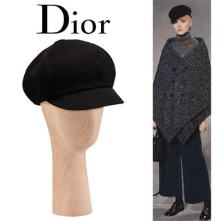 Christian Dior - クリスチャンディオール 18AWニュースボーイキャスケット
