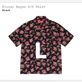 Supreme - supreme floral rayon shirt 黒 L