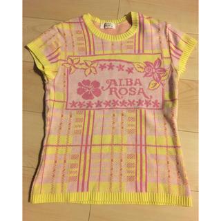 アルバローザ(ALBA ROSA)のアルバローザ  半袖サマーニット(Tシャツ(半袖/袖なし))