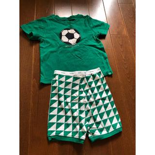 ベビーギャップ(babyGAP)の着用回数少☆babyGapサッカーパジャマ☆90cm(パジャマ)