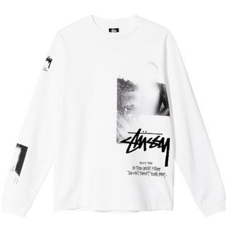 ステューシー(STUSSY)のSTÜSSY & MMW BIG PRINT LS TEE(Tシャツ/カットソー(七分/長袖))