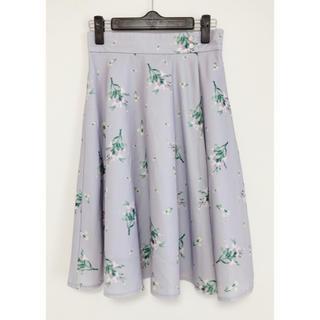ミッシュマッシュ(MISCH MASCH)のミッシュマッシュ  花柄 スカート(ひざ丈スカート)