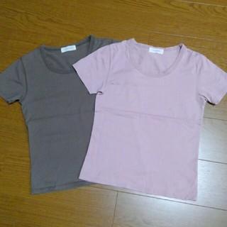 ワコール(Wacoal)の★Wacoal 半袖Tシャツ カットソー Mサイズ 2枚セット(Tシャツ(半袖/袖なし))