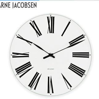 アルネヤコブセン(Arne Jacobsen)の訳あり中古/イデー購入アルネヤコブセン/ローマンクロック(掛時計/柱時計)