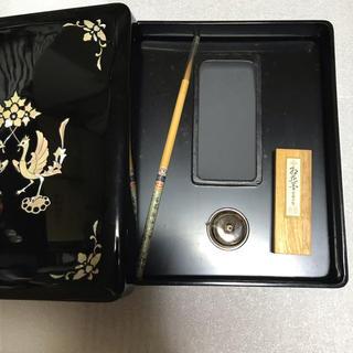 すずり箱  アンティーク (書道用品)