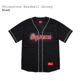 シュプリーム(Supreme)のSupreme Rhinestone Baseball Jersey M(シャツ)