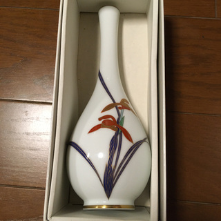 コウランシャ(香蘭社)の香蘭社 蘭 花瓶 新品(花瓶)