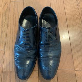スーツカンパニー(THE SUIT COMPANY)の革靴 suits company ネイビー(ドレス/ビジネス)