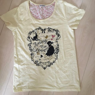 ディズニー(Disney)のアリス 黄色 イエロー 半袖 Tシャツ(Tシャツ(半袖/袖なし))