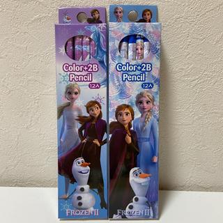 アナと雪の女王 - 新品未開封 アナ雪 鉛筆 2B 24本セット 送料込