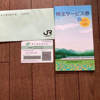JR東日本旅客鉄道 優待割1枚とクーポンブック(鉄道乗車券)