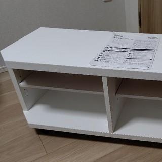 ニトリ(ニトリ)のニトリ TV ボード(テレビ台) フレディ LT40 ホワイト(その他)