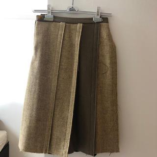 ヴィヴィアンウエストウッド(Vivienne Westwood)のVivienne Westwood Harris Tweedウールスカート(ロングスカート)