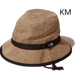 THE NORTH FACE - 新品 ノースフェイス ハイクハット キッズ KM ナチュラル 帽子