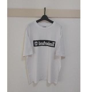 Timberland - オーバーサイズ Tシャツ反転ロゴ Timberland