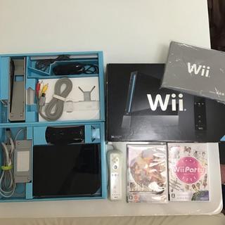 Wii 本体(リモコン2つ)+ Wiiパーティー + 戦国無双3