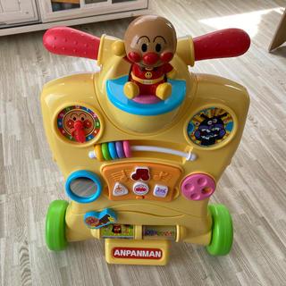 アンパンマン 乗って押して!へんしんウォーカー(手押し車/カタカタ)
