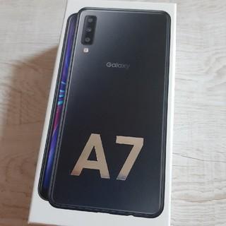Galaxy - GALAXY A7  新品 先週購入品