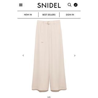 snidel - Snidel  シアーフレアパンツ