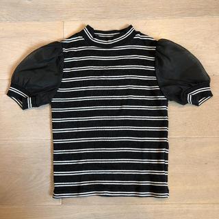 スナイデル(snidel)のsnidel girl ボーダーTシャツ(Tシャツ/カットソー)